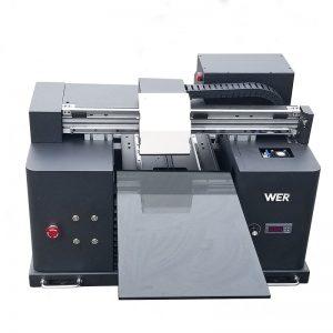 2017 olcsó A4 méretű asztali tábla UV vezetett síkképernyős digitális nyomtató WER-E1080UV