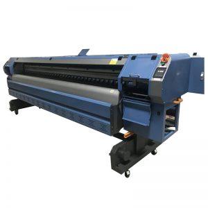 3.2m Konica 512i nyomtatófej digitális vinil flex banner oldószeres nyomtató / plotter / nyomógép WER-K3204I