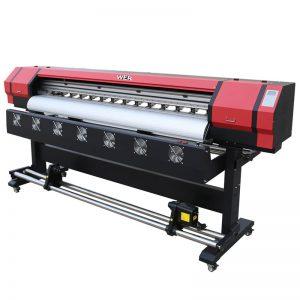 6 láb nyomtatási videó WER-ES1901 DX5 / DX7 fej eco oldószeres nyomtató Guangzhou szállítóban