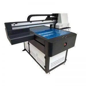 A1 UV nyomtató Digitális 6090 síkágyas UV nyomógép 3D-s hatással / lakknyomtatással