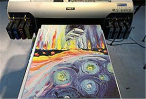 Canvas minta A2 UV nyomtatóból WER-EH4880UV