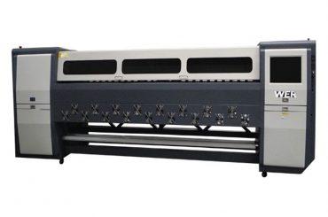 Jó minőségű K3404I / K3408I oldószeres nyomtató 3.4m nagy teljesítményű tintasugaras nyomtató