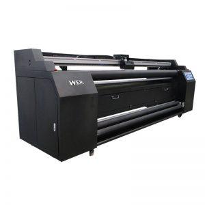 WER-E1802T 1,8 m közvetlen textil nyomtatóhoz 2 * DX5 szublimációs nyomtatóval