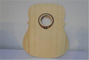 Fa gitár minta A2 méretű UV nyomtató WER-DD4290UV