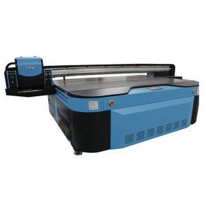 jó minőségű, lapos, kerámia / fotó / akril / fa nyomtatású UV lapos nyomtató WER-G2513UV