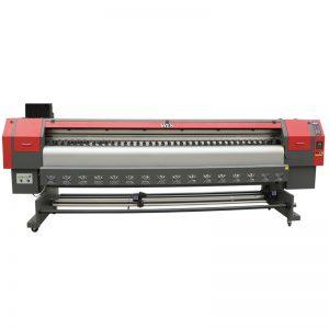 nagy sebességű, 3,2 m-es oldó nyomtató, digitális flex banner nyomógép ára WER-ES3202
