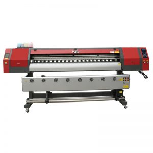 nagy formátumú textilszövet ruha 1,8 m szublimációs plotter nyomtató WER-EW1902